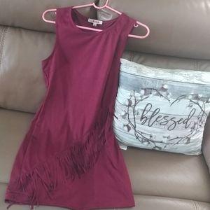 🆕❤ Dress with tassels